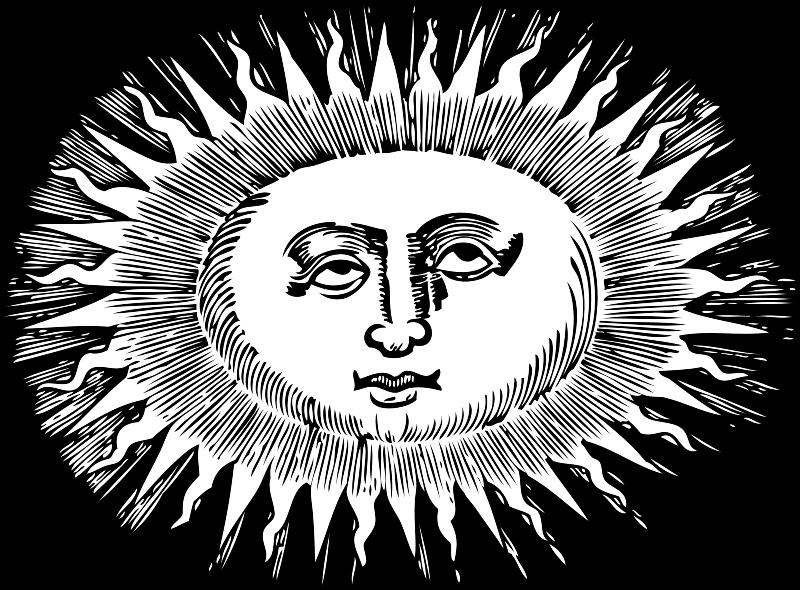 Free oval sun