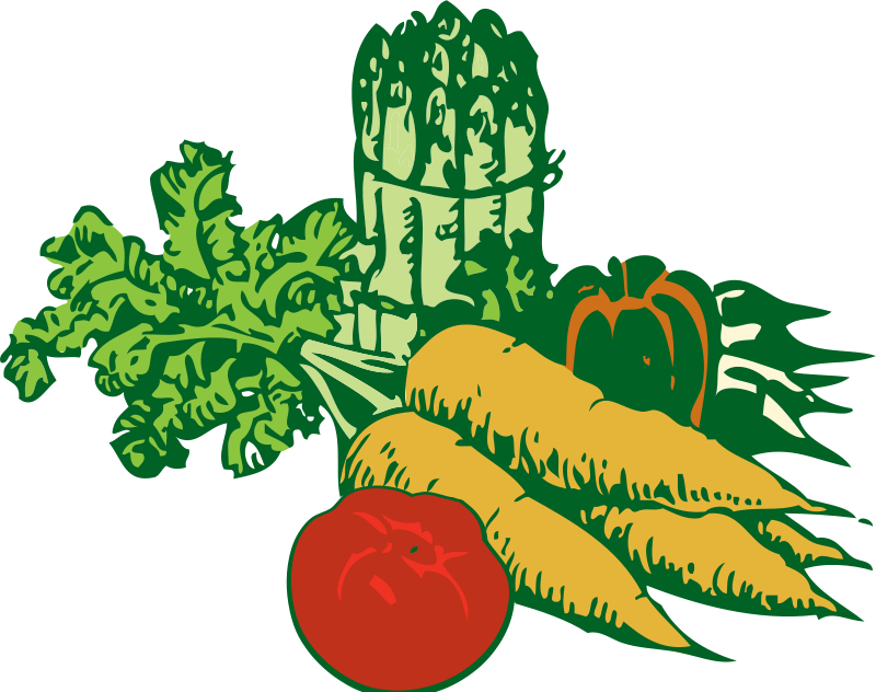 Free Clipart: Vegetables | johnny_automatic
