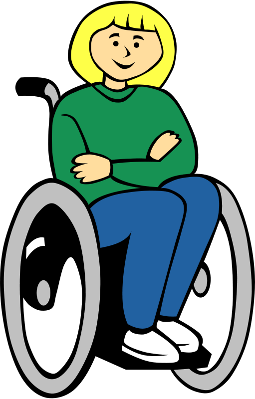 Free Girl in wheelchair