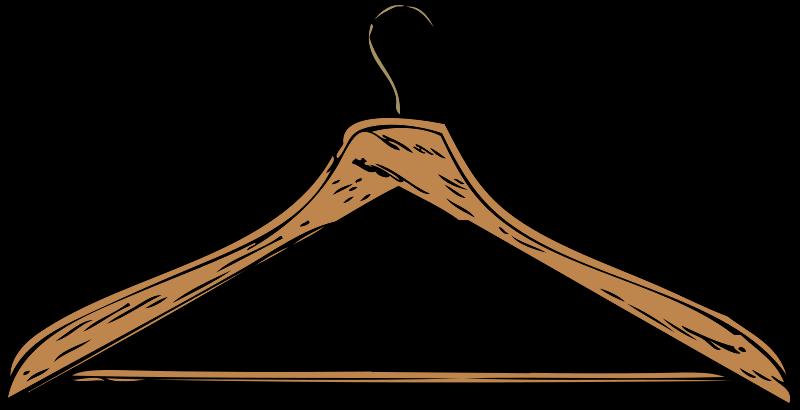 Free coat hanger