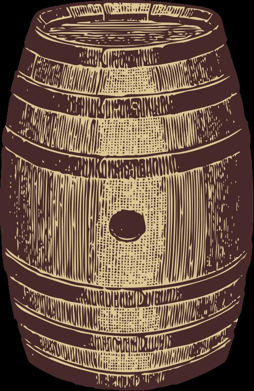Free wooden barrel