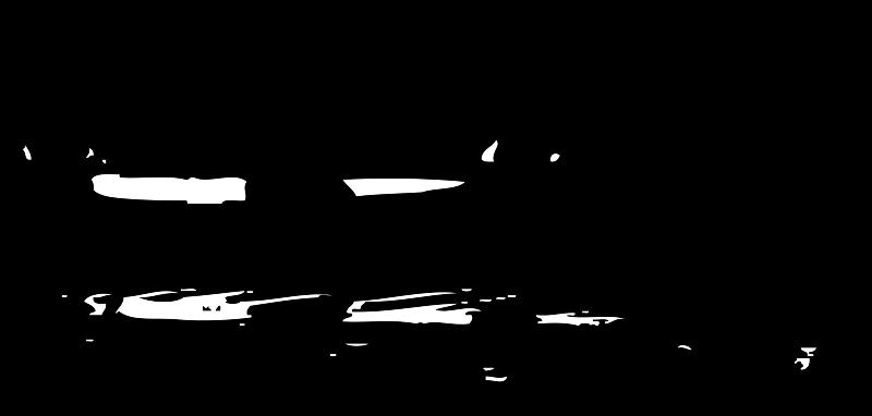 Free canoe silhouette
