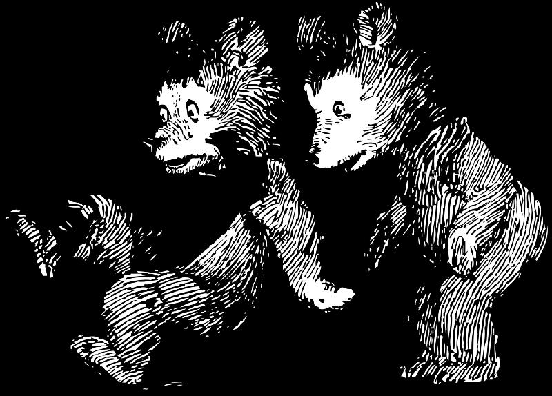 Free startled bears