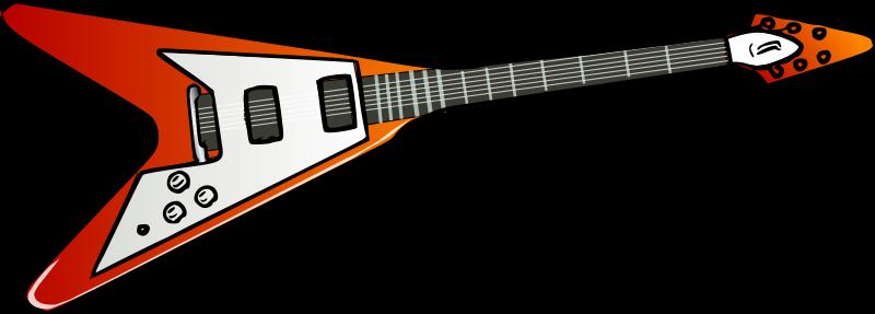 Free Flying V guitar