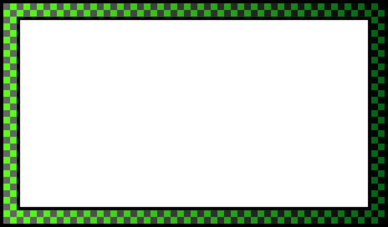 Free border - green with gradients