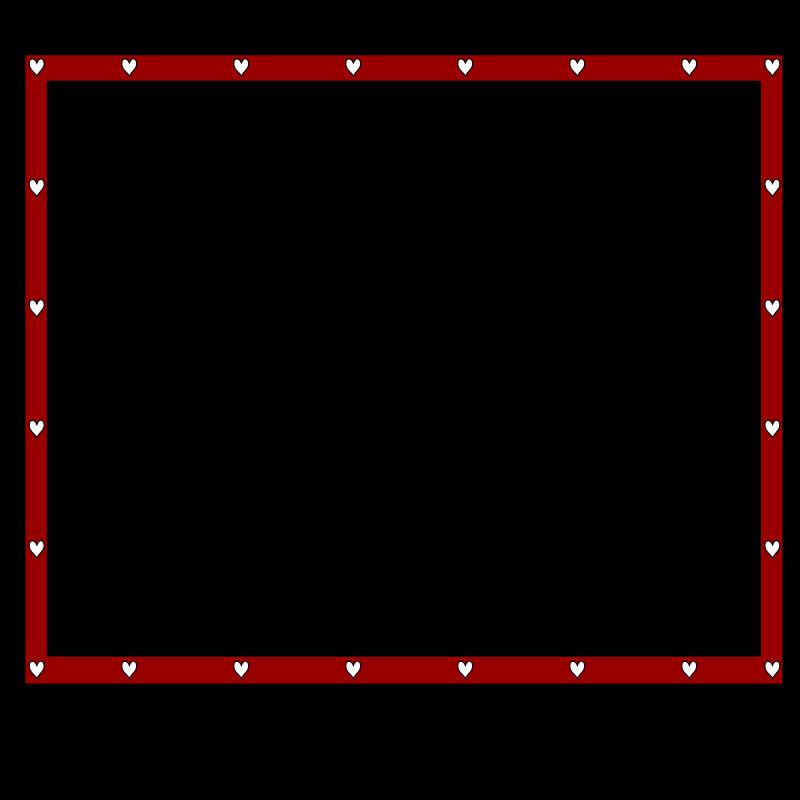 Free border redBlack_hearts4x3.3