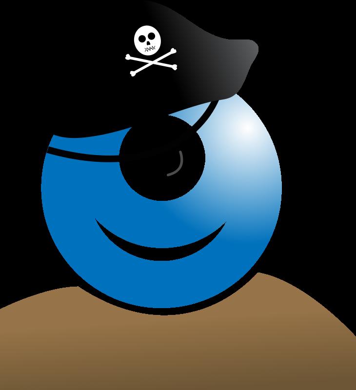 Free alien pirate