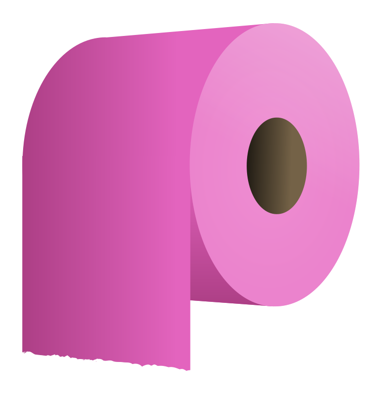 Free toilet paper roll