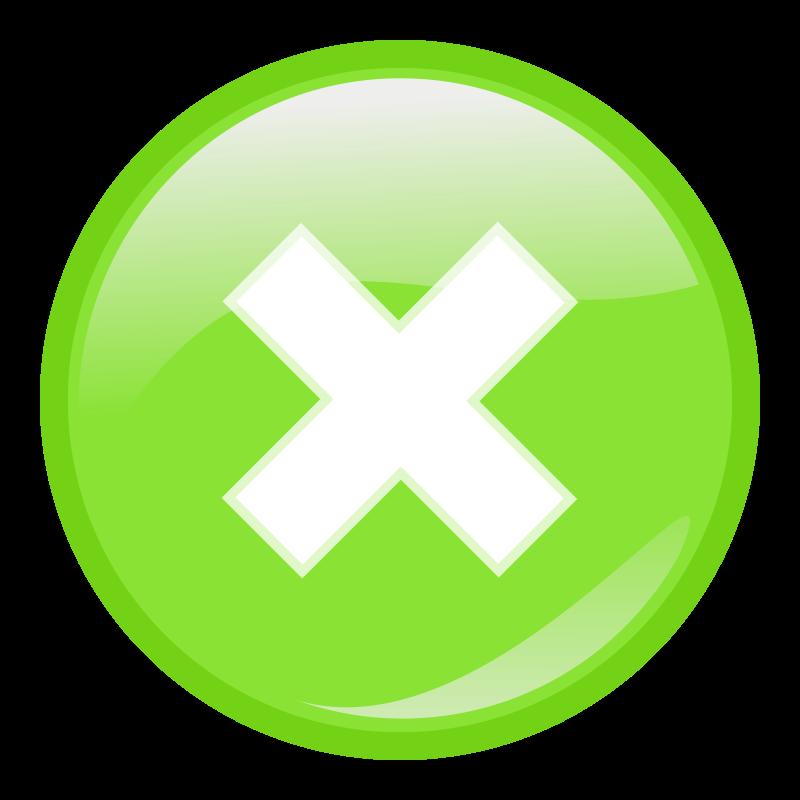 Free green round submit icon