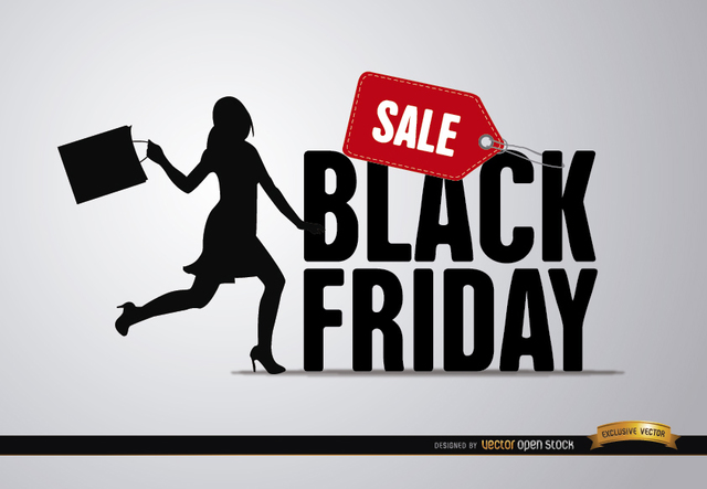 Free Black Friday sale woman