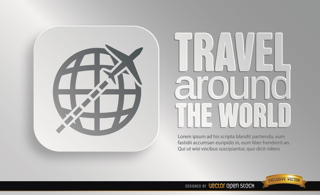 Free World travel symbol promo
