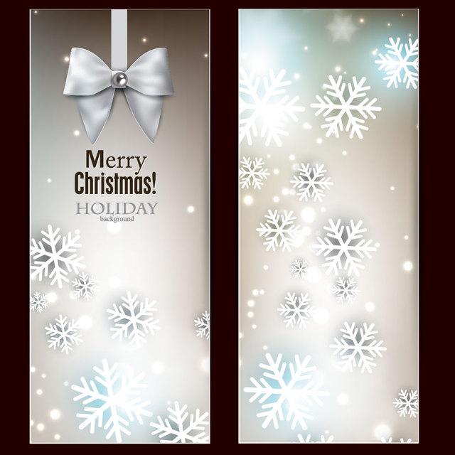 Free Stylish Bright Christmas Banners