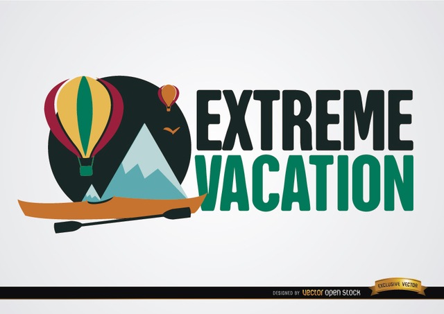 Free Extreme vacation background