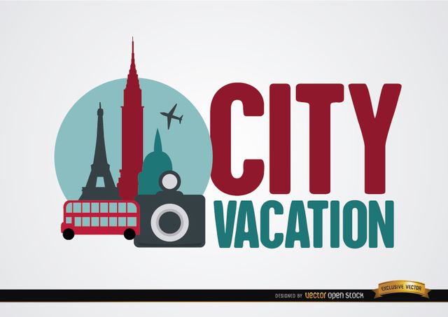Free City vacation background