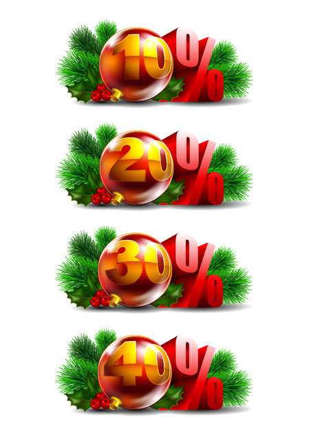Free Promotional Christmas Ball Decoration Pack