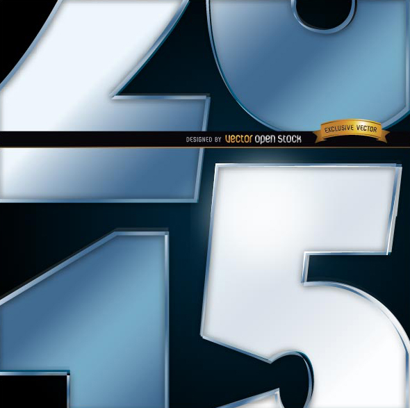 Free 2015 number close view background