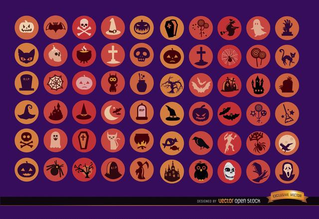 Free 60 Halloween Icons