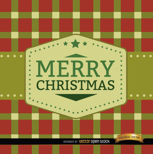 Free Merry Christmas squares background