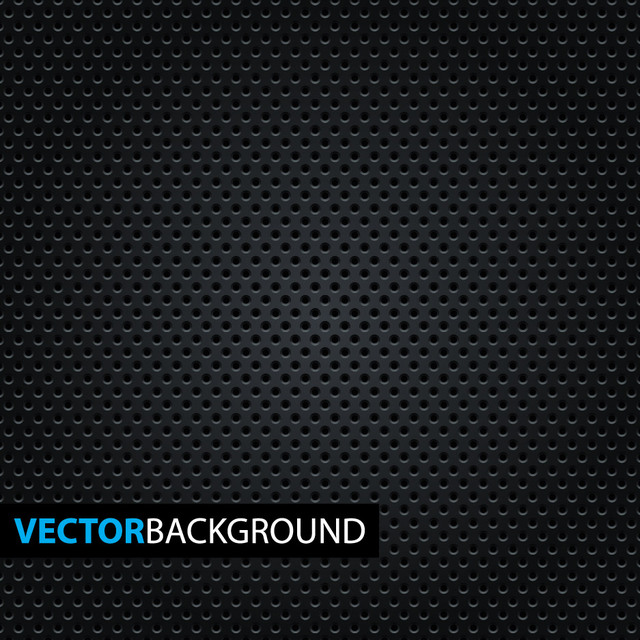 Free Micro Dotted Pattern on Black Background