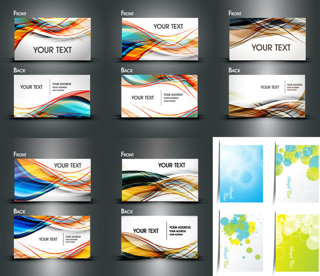 Free Multicolor Both Sided Dynamic Business Card Pack