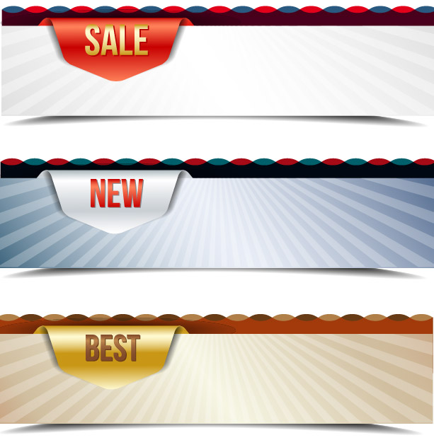 Free Template Creative 3 Sales Banners