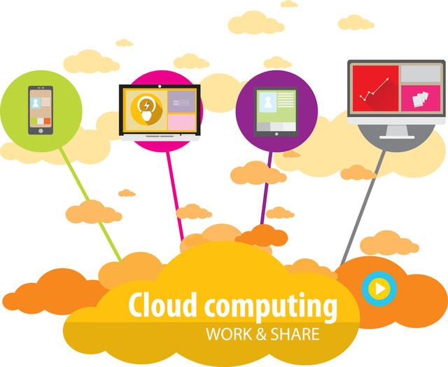 Free Modern Technology Communication Infographic