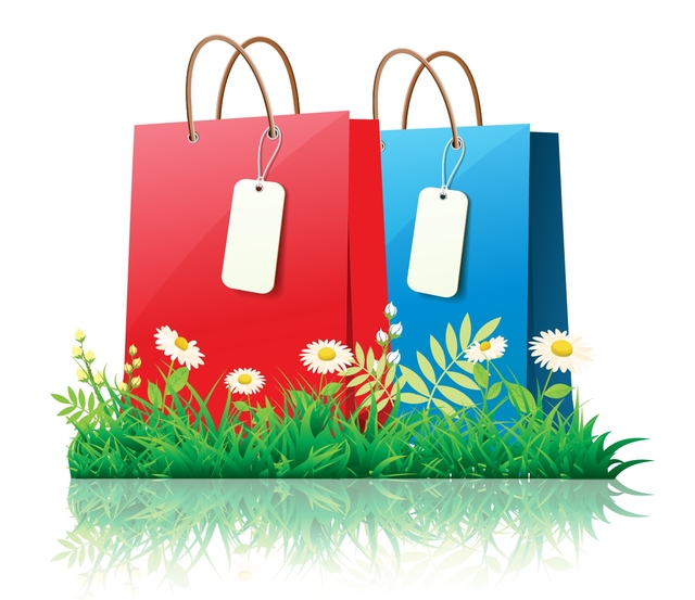 Free Fresh Spring Time Shopping with Daisies