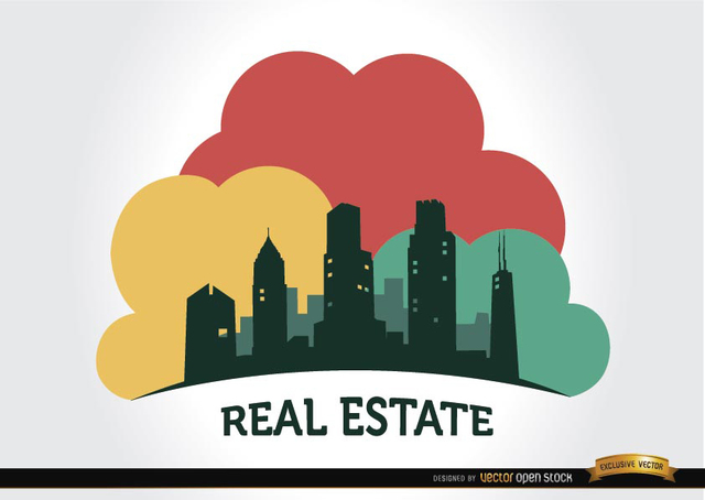 Free Real estate buildings company logo