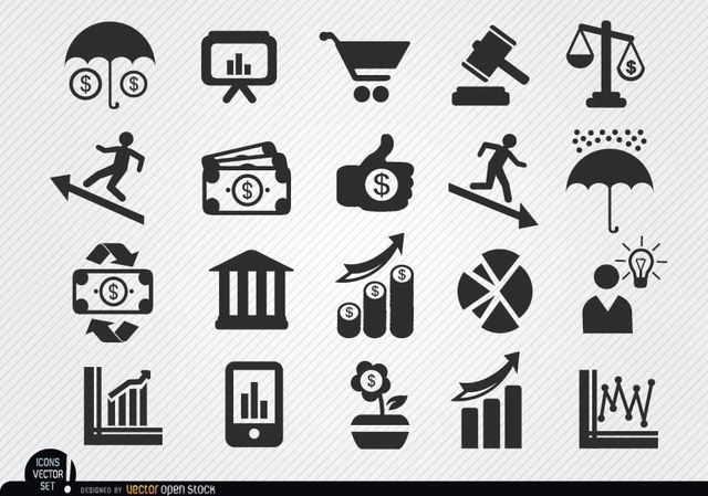 Free Economic icons set