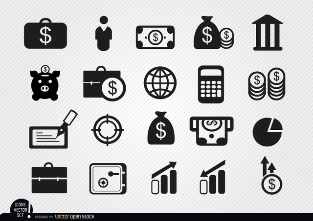 Free 20 Money investments and savings icons