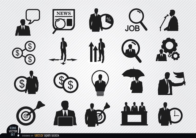 Free 20 Businessman icons