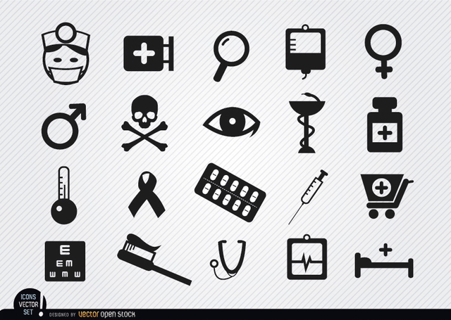 Free 20 Medicine symbol icons