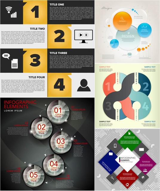 Free Elegant Infographic & Project Timeline Set