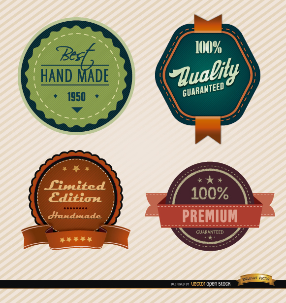 Free 4 Product special feature badges