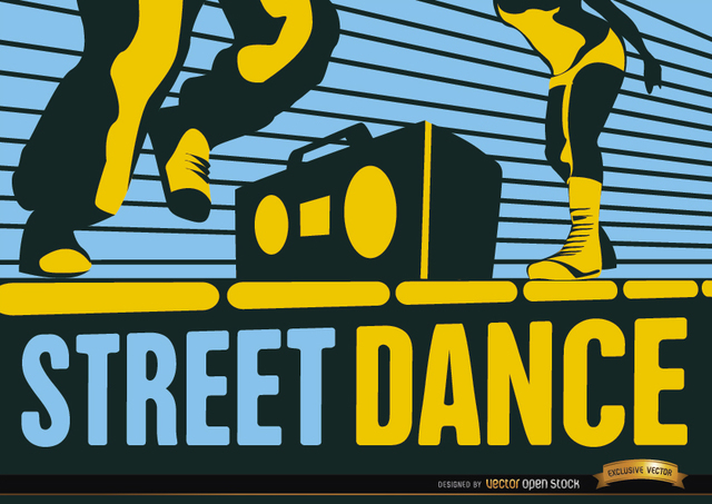Free Street Hip-Hop dance wallpaper