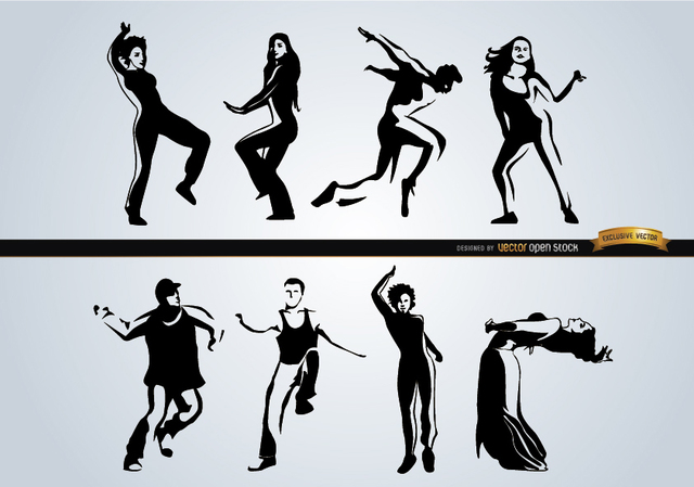 Free People dancing different styles