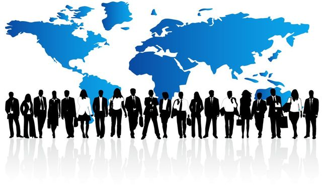 Free Business Background with Corporate Peoples