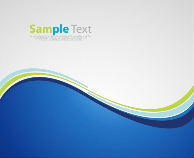Free Blue Grey Splitted Wave Background