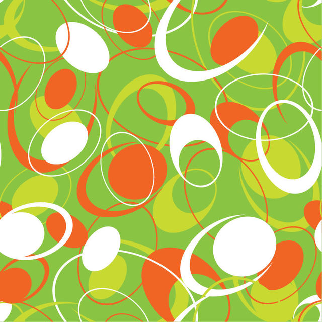 Free Seamless Abstract Flat Circular Pattern