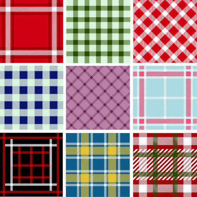 Free Seamless Plaid Pattern Collection