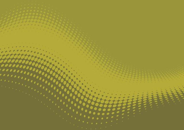 Free Flat Waving Halftone Green Background