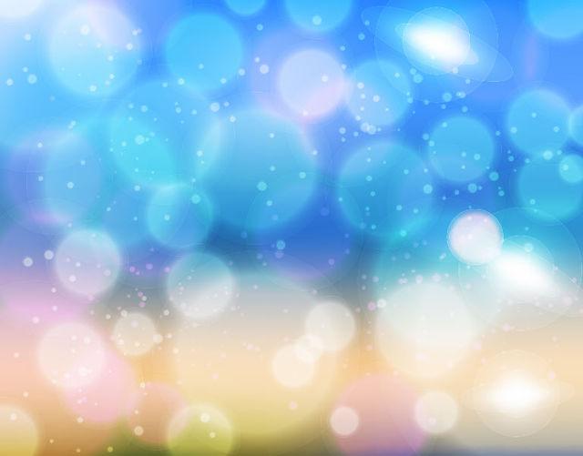 Free Blurry Bokeh Light Shiny Background
