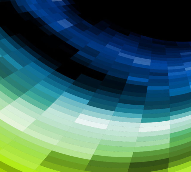 Free Curvy Formed Colorful Mosaic Tiled Background