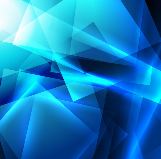 Free Bright Blue Crystallized Squares Background