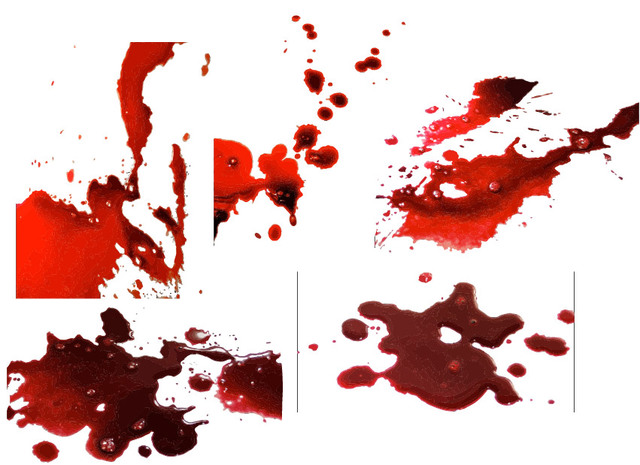 Free Realistic Blood Splatter Pack