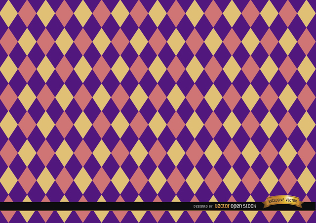 Free Rhombus colorful pattern background