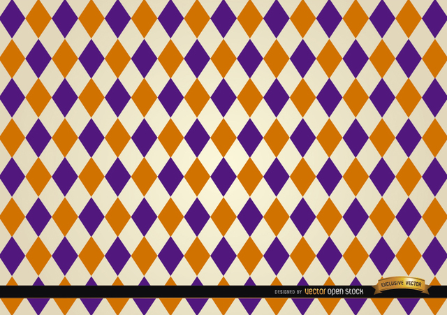 Free Rhomb pattern background