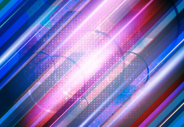 Free Abstract Colorful Background with Lines