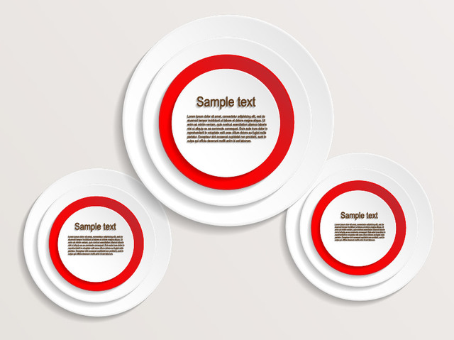 free vectors creative circular banner label vector sources
