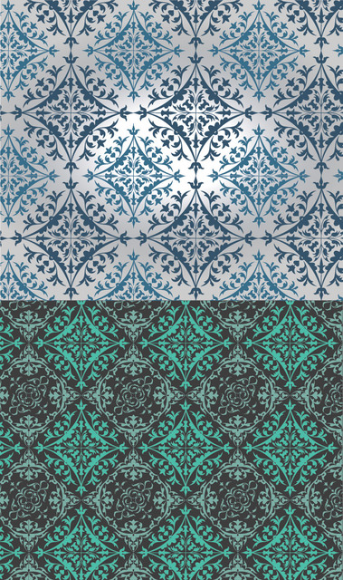 Free Slavonic Seamless Ornamental Pattern